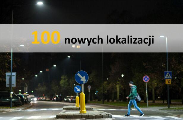 Doświetlenia przejść dla pieszych  ZDM