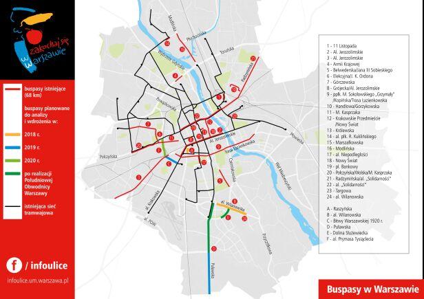 Buspasy w Warszawie UM