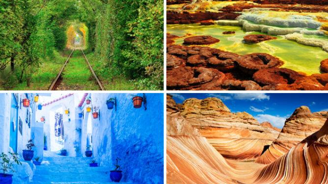 Jak z bajki. 10 niezwykłych miejsc na Ziemi