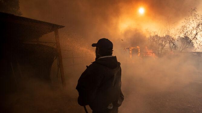 """Katastrofalne pożary w Kalifornii to """"nowa normalność"""""""