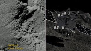 O krok od zderzenia z kometą. Zobacz przekaz z centrum dowodzenia