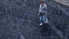 Śnieg w Niemczech (PAP/EPA/FILIP SINGER)