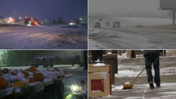 Wypadki na drogach, odwołane loty. Burza śnieżna przeszła przez Kanadę i Stany Zjednoczone