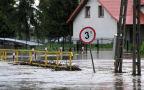 Podniesiony poziom rzek w Małopolsce