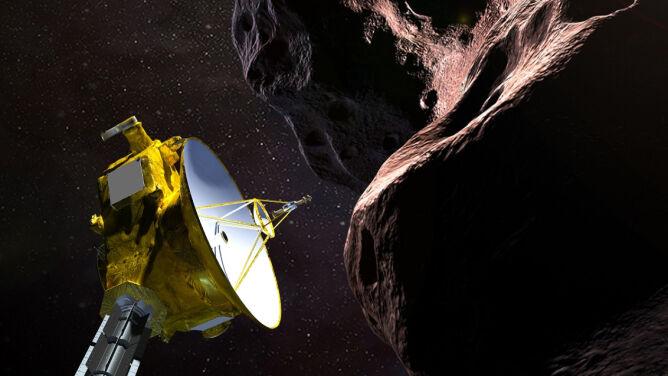 Najdalsza misja na obrzeżach Układu Słonecznego
