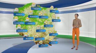 Prognoza pogody na poniedziałek 26.10